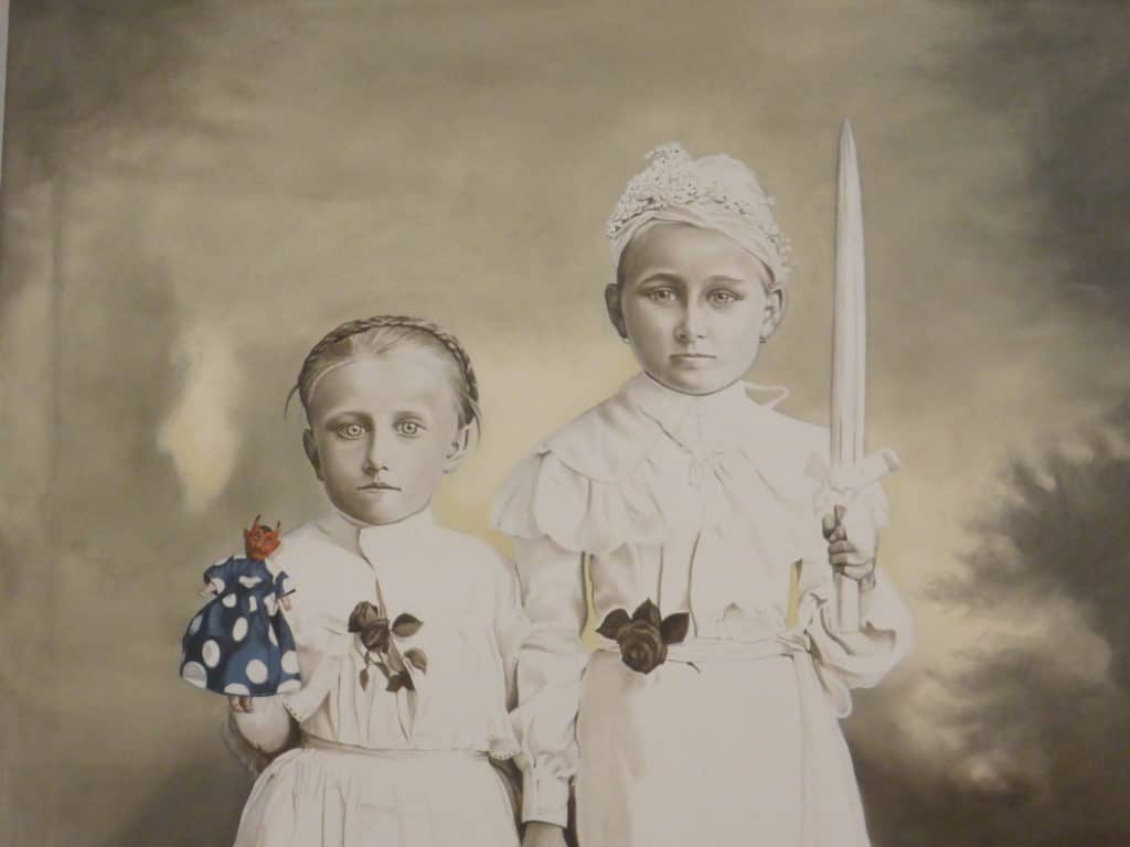 Marianna Gartner Confirmation Girl and Devill Doll